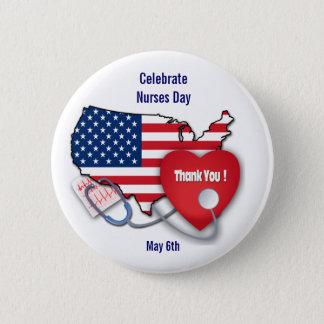 Badge Célébrez le jour d'infirmières