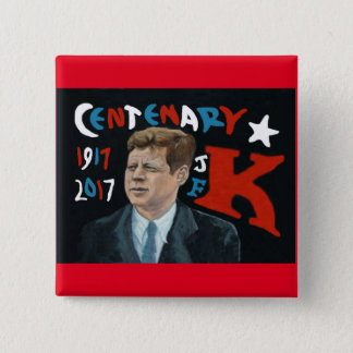 Badge Centenaire de JFK 1917 - 2017