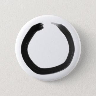 Badge Cercle d'Enso de bouddhiste zen