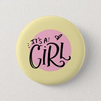 Badge C'est une fille