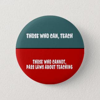 Badge Ceux qui peuvent enseigner