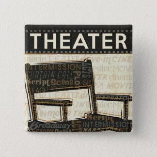 Badge Chaise vintage de film