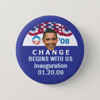 Badge Changez commence le bouton