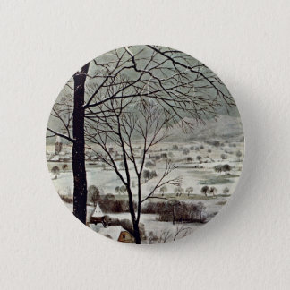 Badge Chasseurs dans le détail de la neige (mois de
