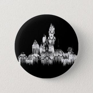 Badge Château congelé - B&W