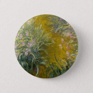 Badge Chemin à travers les iris