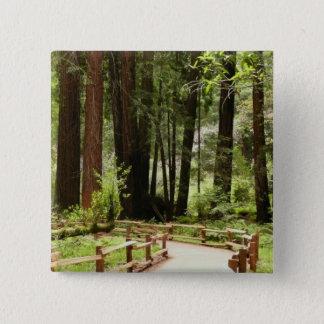 Badge Chemin I en bois de Muir