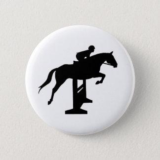 Badge Cheval et cavalier de pullover de chasseur