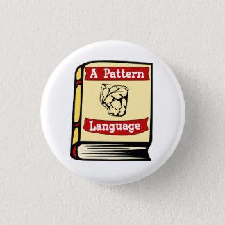 Badge Christopher Alexandre un Pin de livre de langue de