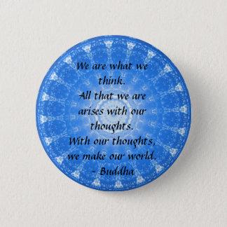 Badge Citation bouddhiste INSPIRÉE, dire