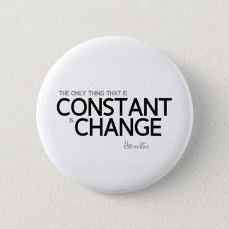 Badge CITATIONS : Heraclitus : Changez est constant