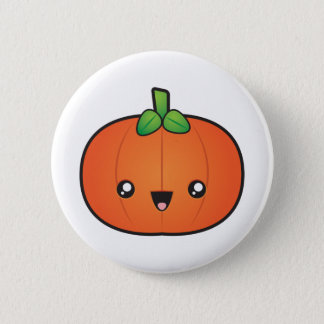Badge Citrouille mignon de Halloween