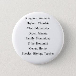 Badge Classification biologique - professeur de biologie