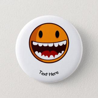 Badge Classique souriant étrange