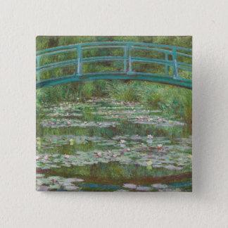 Badge Claude Monet | la passerelle japonaise, 1899
