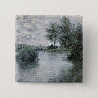 Badge Claude Monet   la Seine chez Vetheuil, 1879