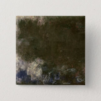 Badge Claude Monet | les nénuphars les nuages, 1914-18