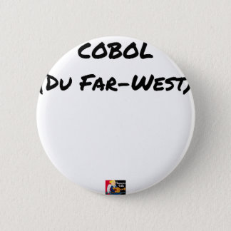 Badge Cobol (Du Far-West) - Jeux de Mots- Francois Ville