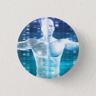Badge Codage et code génétique d'ADN comme Science