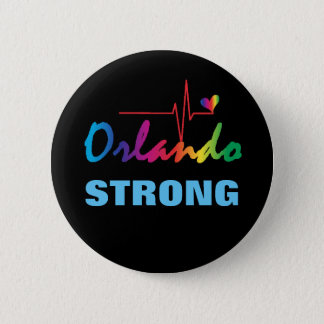 Badge Coeur fort LGBT d'impulsion d'arc-en-ciel