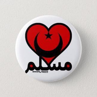 Badge Coeur musulman