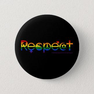 Badge Coexistez avec gay pride de respect