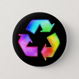 Badge Colorant de cravate réutilisant le bouton de