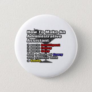 Badge Comment faire un assistant administratif