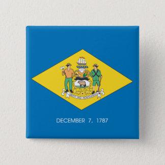 Badge Conception de drapeau du DELAWARE -
