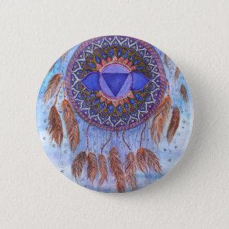 Badge Conception inspirée de Chakra de troisième oeil
