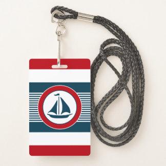 Badge Conception nautique