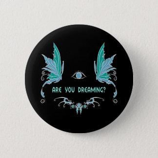 Badge Conception rêvante lucide de bouton/goupille