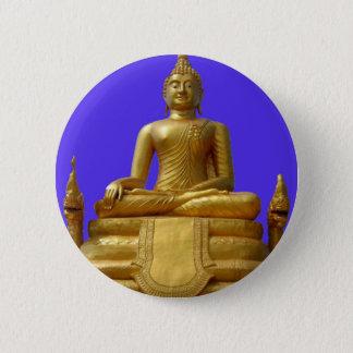 Badge Conception sereine et belle de Bouddha