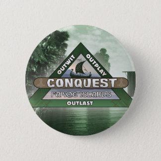 Badge Conquête : Bouton de logo des Iles Féroé
