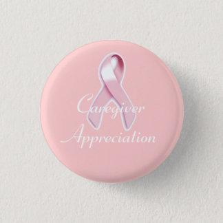 """Badge Conscience de cancer du sein """"d'appréciation de"""