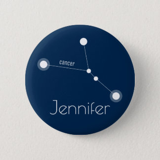 Badge Constellation personnalisée de zodiaque de Cancer