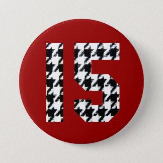 Badge Copie fantastique du pied-de-poule quinze
