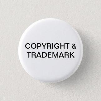 Badge Copyright et bouton de marque déposée
