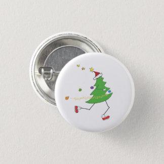 Badge Coureur d'arbre de Noël