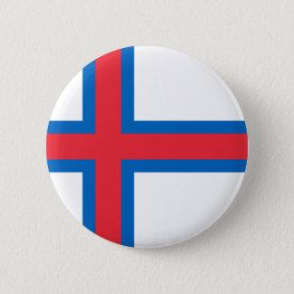 Badge Coût bas ! Drapeau des Iles Féroé