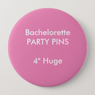 """Badge Coutume 4"""" ROSE rond énorme de Pin de partie de"""