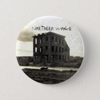 Badge COUVERTURE CD, baleine du nord