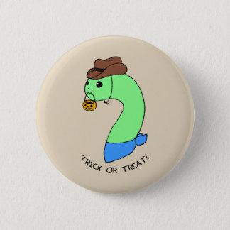 Badge Cowboy de Dino de des bonbons ou un sort