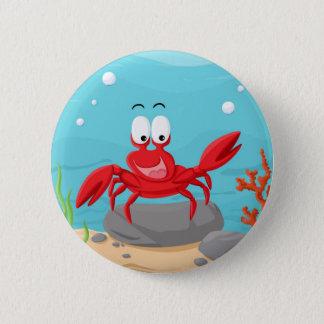 Badge crabe mignon