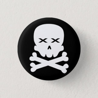 Badge Crâne mort