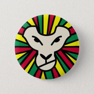 Badge Crinière colorée par Rastafari de lion
