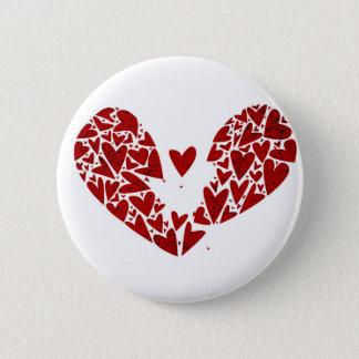 Badge Crise cardiaque de coeur brisé