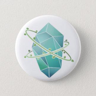 Badge Cristal de plante