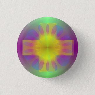 Badge Croix de brillant