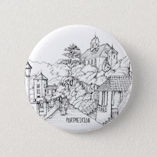 Badge Croquis à l'encre du nord de Portmeirion Pays de